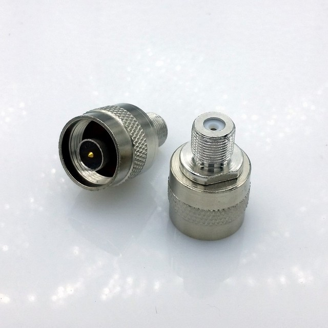 L16 N Male to F Connector N Male to F type RF Coaxial Connectors N to F Connection 100pcs/lot