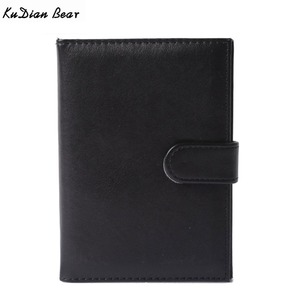 KUDIAN BEAR PU Leather Passport Cover For Women Men Russian Driver's License Cover For Car Driving Documents BIH002 PM49