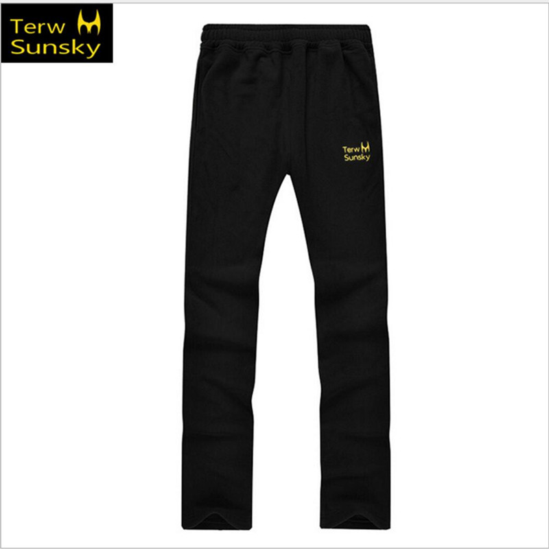 Free Shipping--2015 News Outdoor Men Thickening Fleece Pants Sports Trousers Male TK03