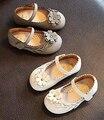 Girls shoes blanco gris kids shoes hermosas flores plantilla ortopédica formal casual princesa shoes chaussure zapato muselim nina