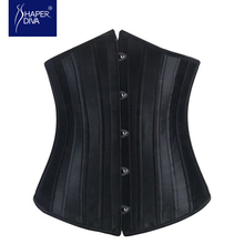 Dobby waist corsets and