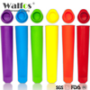 WALFOS food grade Silicone Ice Pop Mold Popsicle maker 6 Cell Frozen tray DIY Ice Cream Tools Jelly Lolly mould For Popsicles