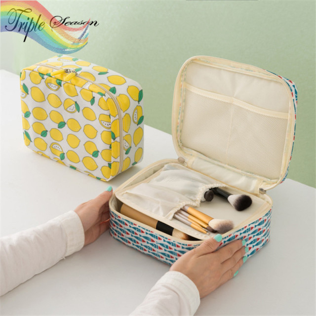 1 Pieces New Bathroom Cosmetic Storage Case Beauty Tool Pouch Bag Accessories Set Ab0109s