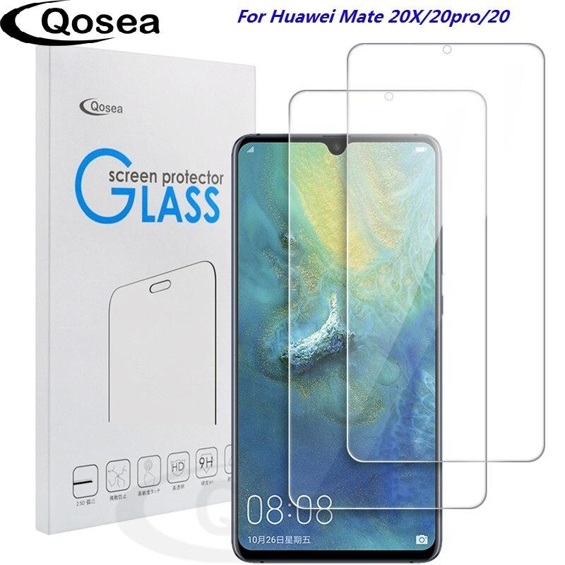 (2 PACK) pour Huawei Compagnon 20X protecteur d'écran 9 H Ultra Clear Pour Huawei Compagnon 20 X Pro Lite verre trempé pour téléphone De Protection Film