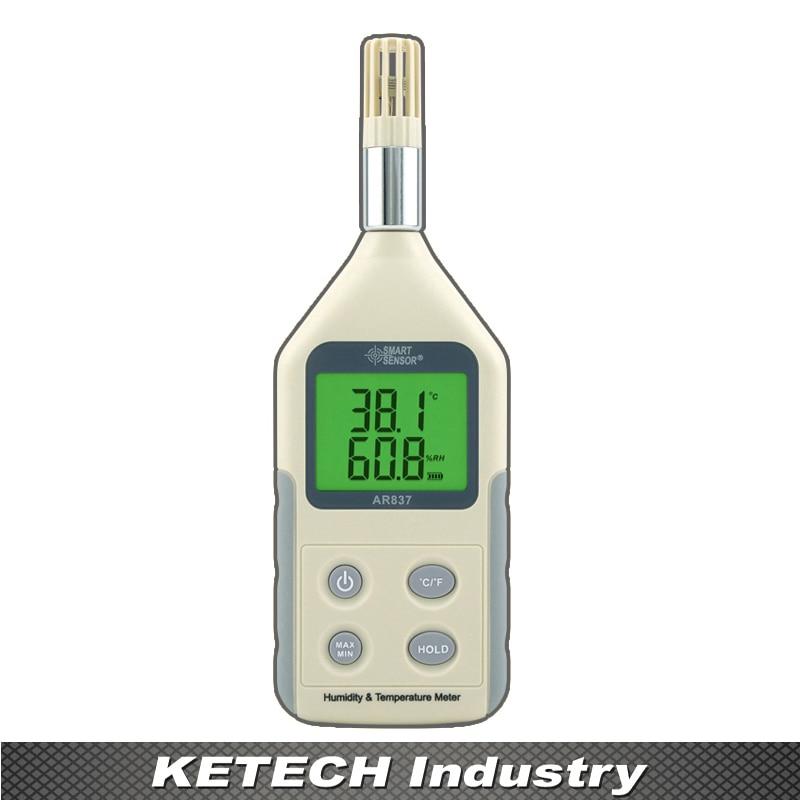 AS837 Handheld Humidity Temperature Gauge Meter Hygrometer Digital as837 humidity temperature meter digital hygrometer humidity meter