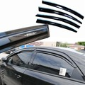 4pcs Windows Vent Visors Rain Guard Dark Sun Shield Deflectors For Kia Forte