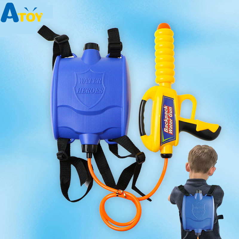 1080 ml Backpack Water Gun Children s Summer Beach Outdoor Water Game Toys Children s Spray Water Gun Shooting Toy