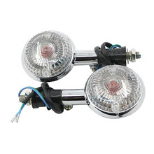 12V Motorcycle Turn Signal Lights Lamp Indicators For YAMAHA XJ700 MAXIM 85-86 / XV-1100 VIRAGO 89-99 / XV-250 VIRAGO 94-12