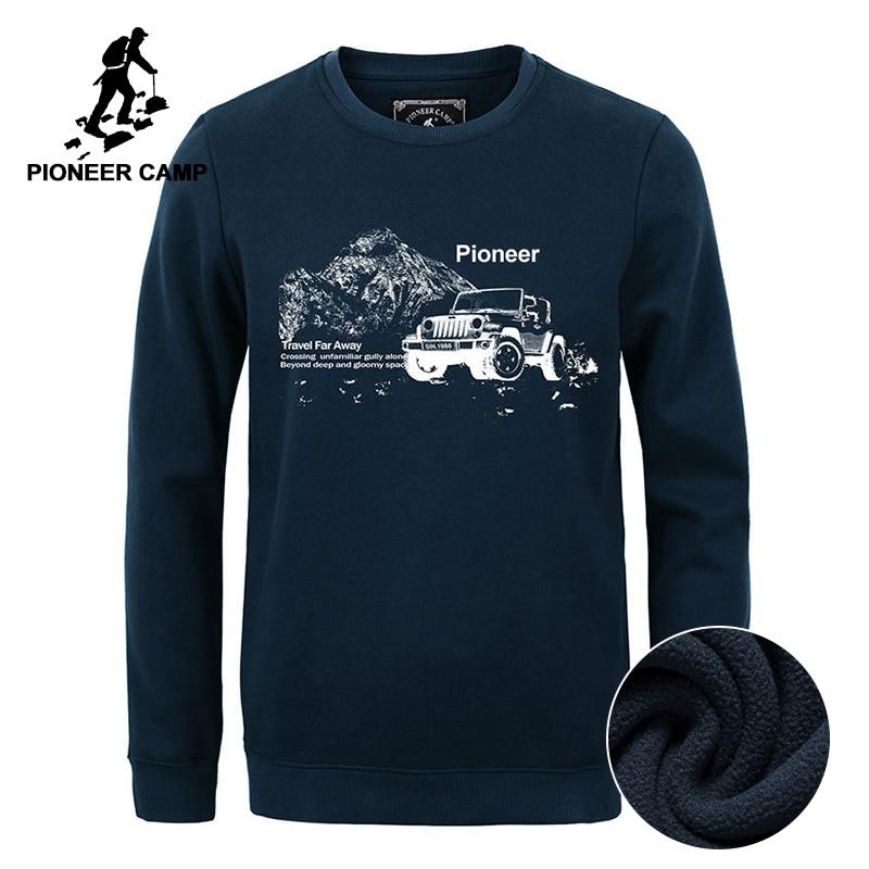 Pioneer Camp neue Herbst Winter Mode Männer Hoodies beiläufige - Herrenbekleidung - Foto 2