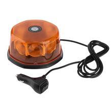 VODOOL Универсальный Автомобильный светодиодный свет Магнитный 12 V 24 V автомобиль светодиодный строблампа предупреждение свет Аварийная Сигнализация лампа мигалки Amber
