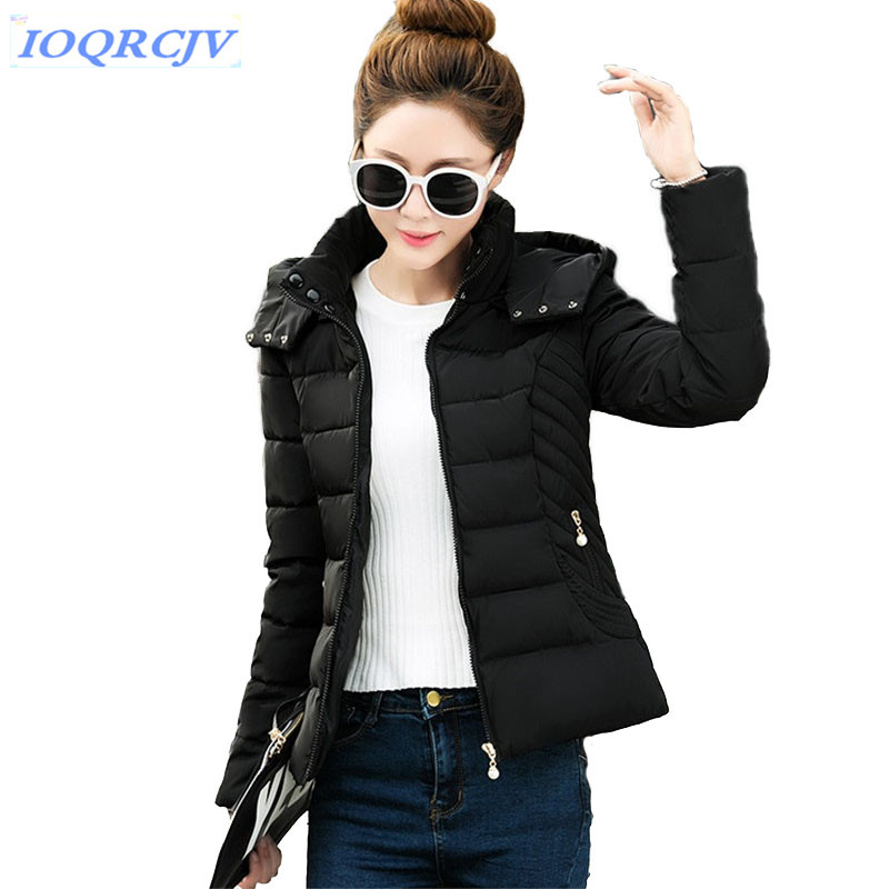 2018 new ladies fashion short coat winter small jacket women outerwear short wadded jacket female padded parka women's overcoat