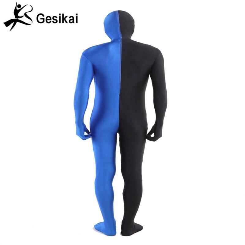 Տղամարդկանց մեծահասակ Full Zentai Bodysuit - Կարնավալային հագուստները - Լուսանկար 3