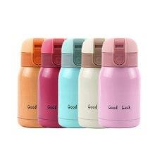 c477357fec1 Mini Kinder Kinder Edelstahl Thermo Tasse Thermoskanne Tasse Flasche Vakuum  Tassen Kaffee Tassen Termos Bauch Becher