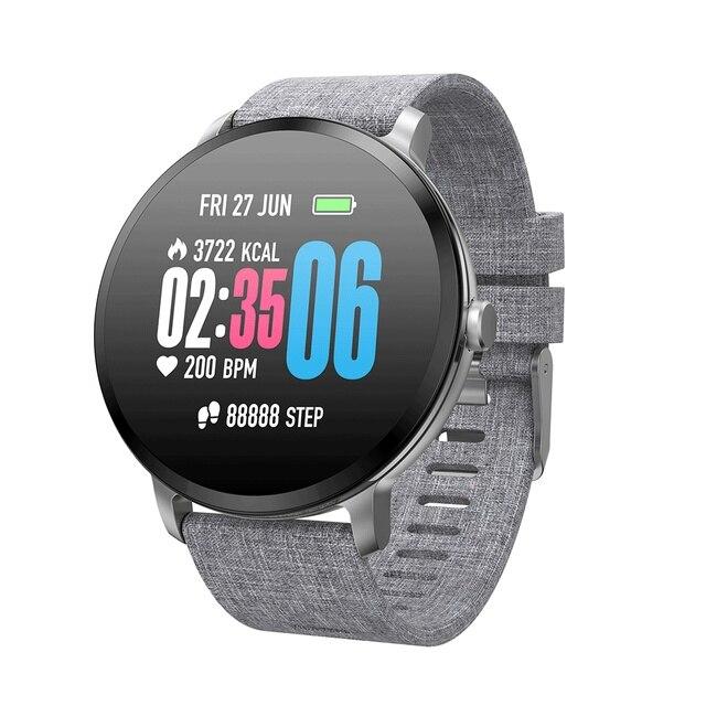 Goral V11 Smartwatch Men Women Weather Music Control HR Blood Pressure Oxygen Training Brightness Smart Watch Bracelet