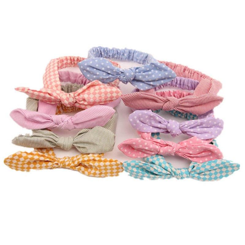 Hair Accessories Newborn Baby Headwear Hair Accessories Ear Elastic Headband For Girls Knot Bandage Hairband Turban Headbands Headwrap Outdoor