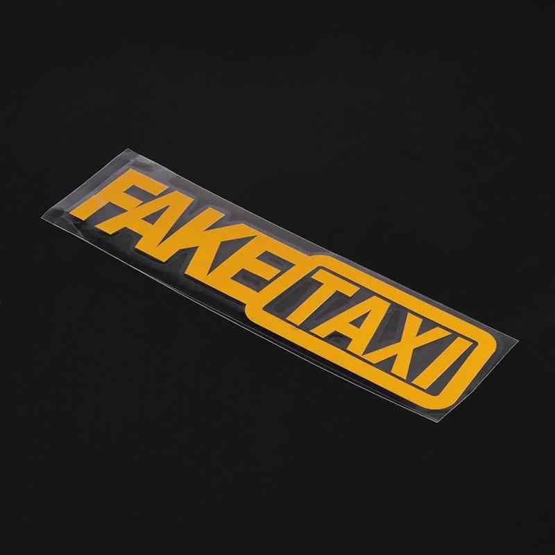 สติกเกอร์รถ TAXI สติกเกอร์รถสะท้อนแสงสำหรับ Mercedes W203 BMW E39 E36 E90 F30 F10 Volvo XC60 S40 Audi a4 A6 อุปกรณ์เสริม