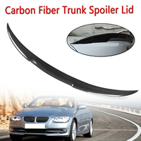 Rear Spoiler Wings For 2007 2013 for BMW 3 Series E93 Convertible Real Carbon Fiber Trunk Spoiler Lip For BMW Rear Wing Spoiler