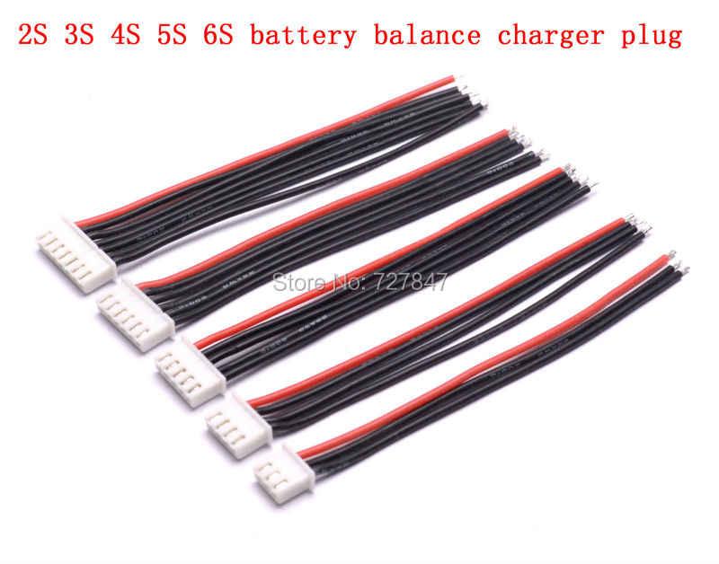 10 см 100 мм RC Lipo батарея баланс зарядное устройство штекер 2 s 3 s 4S 5s 6s кабель для RC вертолет 10 шт