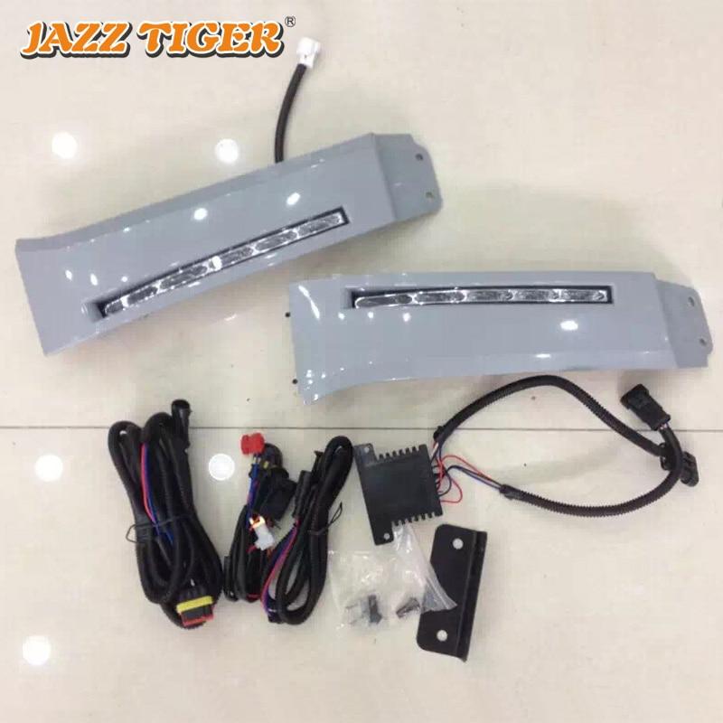 JAZZ TIGER Auto Peredupan Fungsi Waterproof Car 12V LED Daytime - Lampu mobil - Foto 3