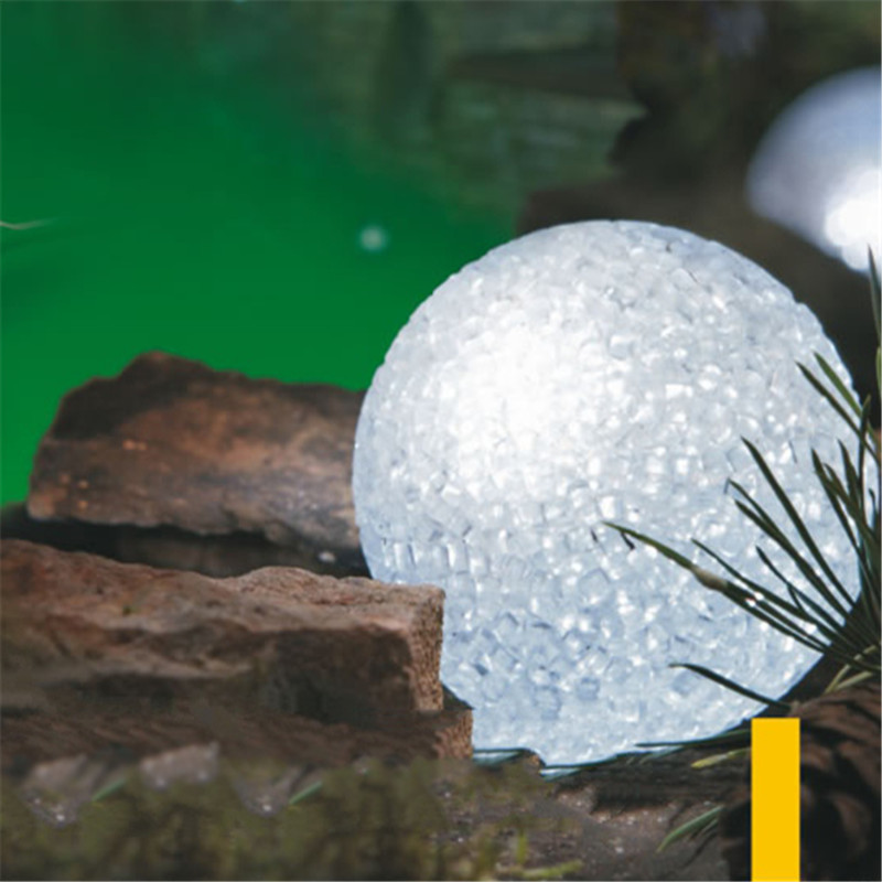 Waterproof LED Solar Panel Snow Ball String Lights Fairy New Year Wedding Garland Garden Luz De Fence Landscape Lamp Decoration