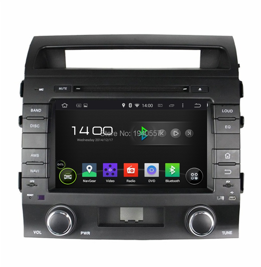 Quad Core Android 5 1 1 HD 2 din 8 Car dvd player for toyota LAND