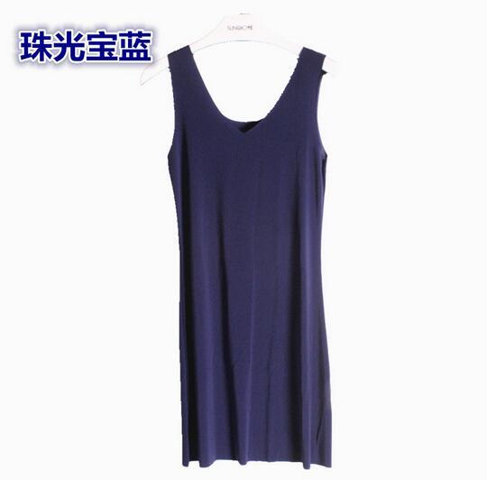 M-5XL Plus size women nightdress model soft night shirt sleeveless sexy v-neck summer dress sleepwear nightgowns female   1