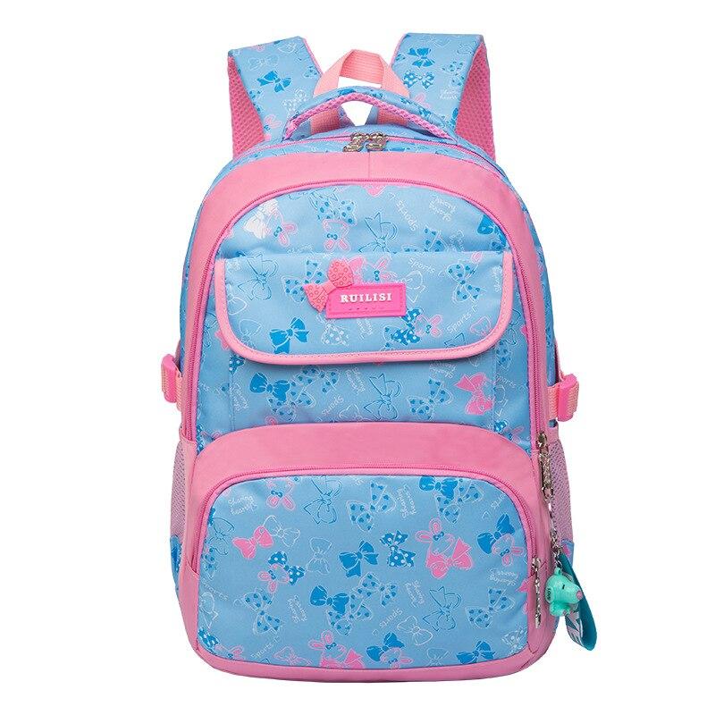 Backpack Travel-Bag School-Bags Multi-Pocket-Shoulder-Bag Girls Children Junior Ornament
