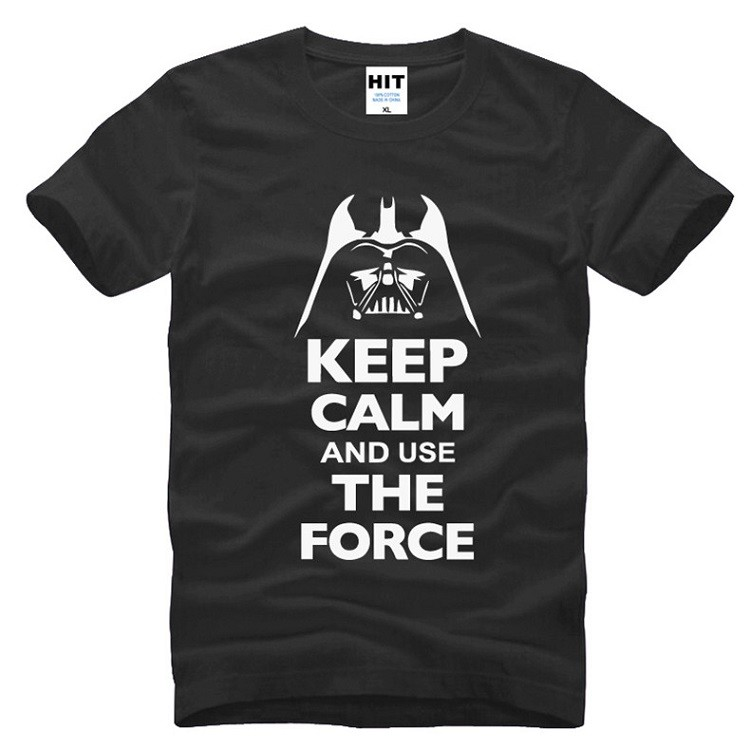 buy star wars black tshirt keep calm and use the force darth vader