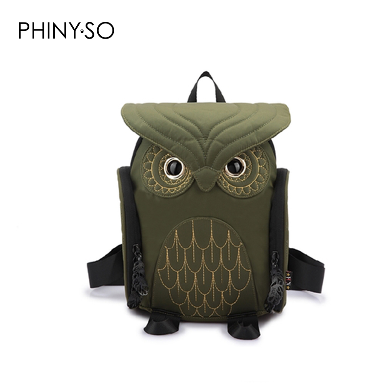2017 Newest Fashion Unisex backpack women owl backpacks For Teenagers Girls bag Brands Mochila Sac school bags small size aequeen womens backpacks nylon backpack shoulder bags fashion ladies small ruck school for girls travelling shopping bag