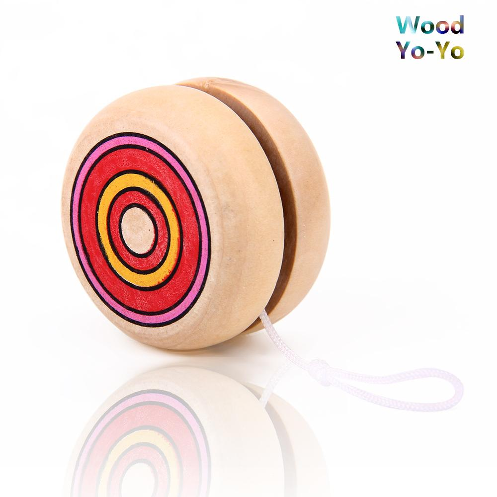 Wooden Toys Toys For Joys : Wooden yo s kids toy play toys fun yoyos novelties new