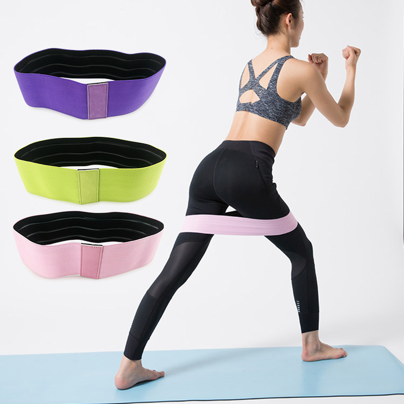 Non Slip Workout Bands: Resistance Hip Band Leg Band For Hip Workout Physical