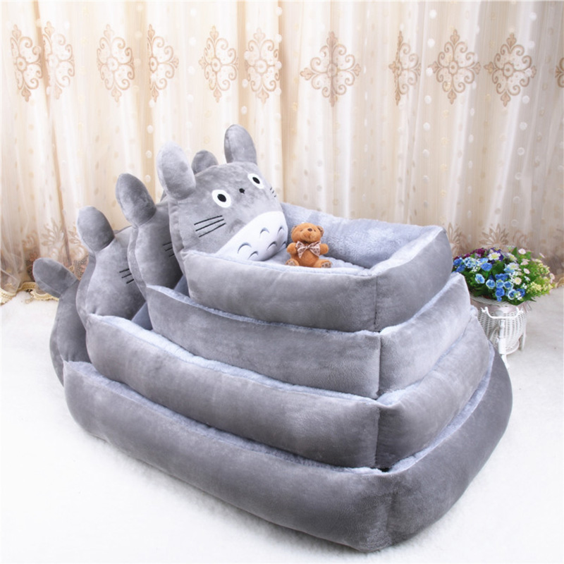 PP Cotton Kennels Cat House Dog Pad Teddy Mats Big Blanket Supplies Cute Pet Dog Bed Mats Animal Cartoon Shaped Pet Sofa Kennels 7