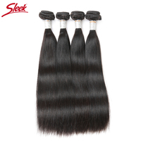 Sleek Products Malaysian Straight Hair Weave 100 Remy Human Hair Extension 10 To 30 Inch 1