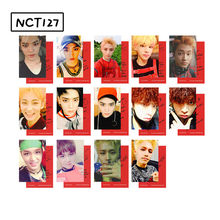 14pcs/set Fashion NCT 127 HD photocard Good quality NCT Dream album photo card NCT126 Supplies Fashion new Arrivals(China)