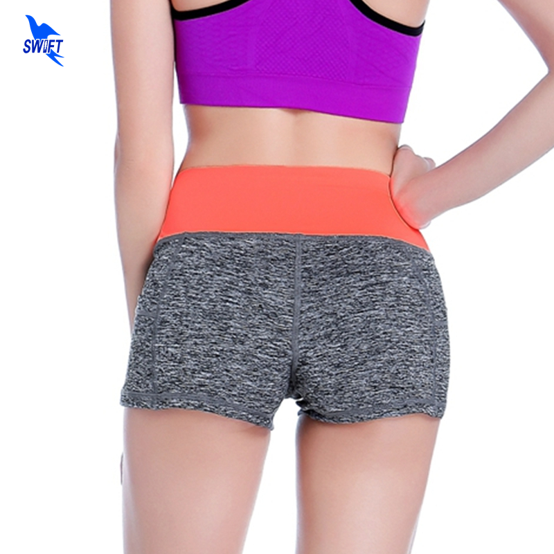 Women Breathable Summer Shorts Patchwork Low Waist Skinny Sports Short Quick Dry Jogging Running Panties Gym Fitness Yoga Shorts