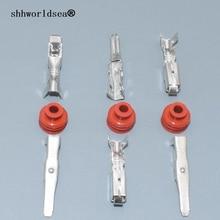 Shhworldsea 20 штук 2,8 мм Женский Мужской ternimal для H11 H8 9005 9006 HB3 HB4 туман разъем