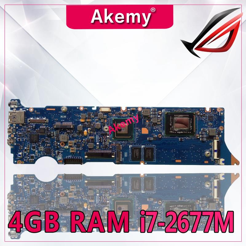 Akemy UX31E Laptop motherboard for ASUS UX31E UX31 Test original mainboard 4G RAM I7-2677MAkemy UX31E Laptop motherboard for ASUS UX31E UX31 Test original mainboard 4G RAM I7-2677M