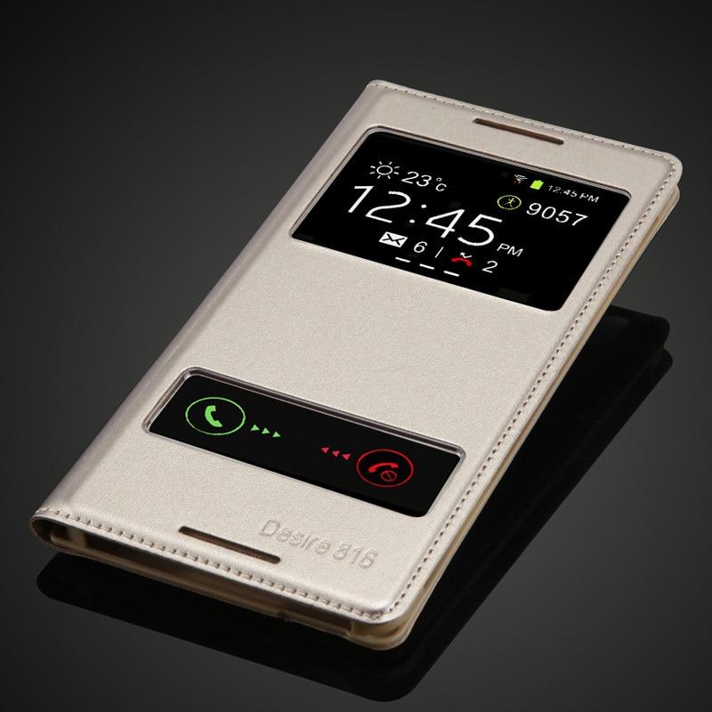 pro HTC Desire 816 800 D816W módní pouzdro telefon držák taška zadní kryt luxusní kniha design PU flip kožené pouzdro doprava zdarma