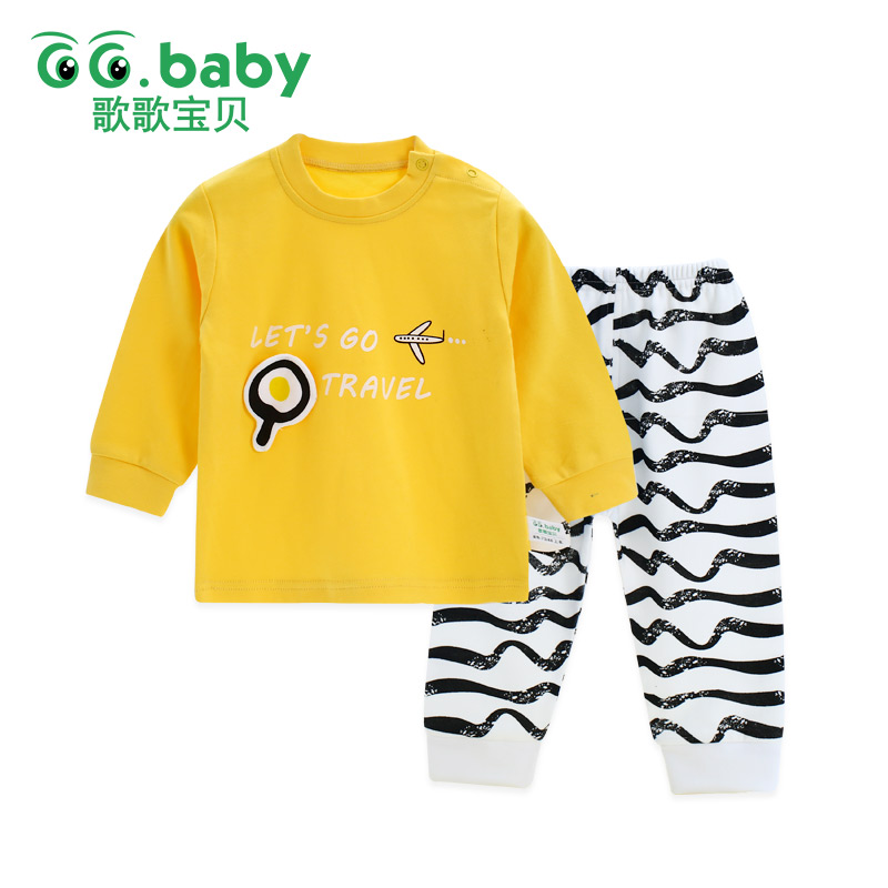 2pcs/set Cotton Bear Baby Clothing Set Long Sleeve Newborn Baby Boy Sets Clothes Baby Girl Outfit Toddler Suit For Boy Pajamas mother nest 3sets lot wholesale autumn toddle girl long sleeve baby clothing one piece boys baby pajamas infant clothes rompers