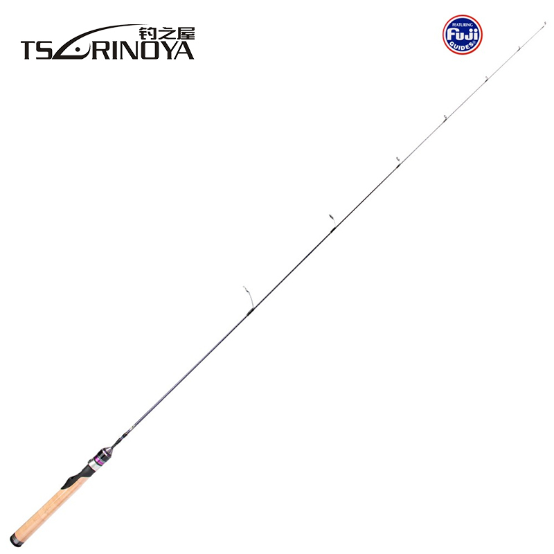 TSURINOYA Area 1.4m Spinning Rod Lure Weight 1-6g Trout Fishing Lure Rod All Fuji Guide Ring UL Medium Lure Fishing Rod удочка fishing rod 1