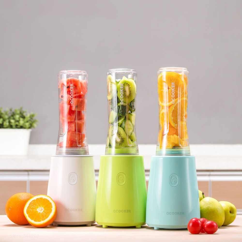 XIAOMI MIJIA QCOOKER CD-BL02 Portátil Xícara de Legumes Frutas liquidificadores misturador Juicer Máquina de Cozinhar Elétrico processador de alimentos Da Cozinha