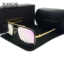 Hot Sale Rectangle UV400 Polarized Sunglasses Men Women Luxury Brand designer 2017 New Pink Coating Sun Glasses Male sunglass