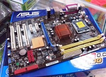For Asus P5QL Pro Desktop Motherboard Mainboard DDR2 REV:1.00G Fully Tested Free shipping