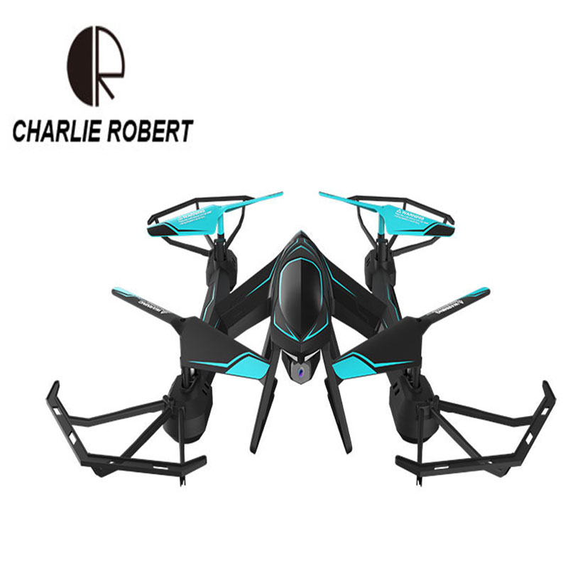 CR RC Drone Headless Mode 6-Axis GyroQuadrocopter 2.4GHz 4CH One Key Return RC Helicopter FPV Wifi Camera q929 mini drone headless mode ddrones 6 axis gyro quadrocopter 2 4ghz 4ch dron one key return rc helicopter aircraft toys
