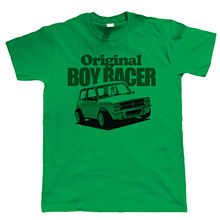 1275 GT Original Boy Racer Mens T Shirt - Classic Mini Clubman Gift for Dad Funny Tops Tee New Unisex High Quality