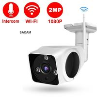 HD 1080P Outdoor Waterproof WIFI Security Wireless IP Camera 360 Degree with 2 Way Audito Night Vision for Home Apartment