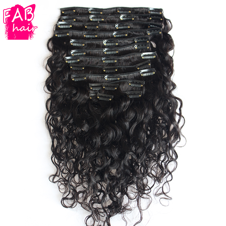 Full peruvian water wave clip in human hair clip in extensions full peruvian water wave clip in human hair clip in extensions wavy clip in afro hair extension for blacks women 9 pcsset on aliexpress alibaba group pmusecretfo Images
