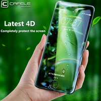 CAFELE 4D Full Cover Tempered Glass For Iphone 7 7 Plus Curved Edge Original Screen Protector