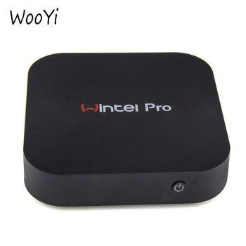 WooYi W8 pro MINI PC intel atom X5-Z8300 quad core  2GB/32GB with WIFI BT4.0 RJ45 100M LAN TV Box  WIN10 Wintel Pro