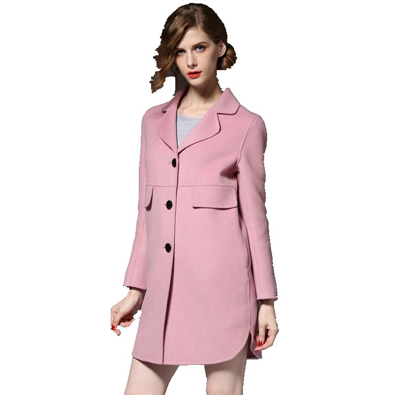 Online Buy Wholesale ladies wool coats full length from China ...